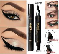Hot Winged Eyeliner Stamp Waterproof Makeup Women Eye Liner Pencil Black Liquid