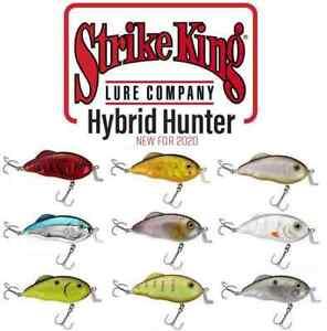 """Strike King Hybrid Hunter 3'-5' 5/6oz. 3.5"""" Hybrid Crankbait HCHH (Choose Color)"""