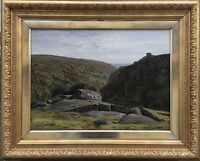 Johannes Brandt (1850-1926) Landscape Bornholm - Coast - Baltic Sea 1884