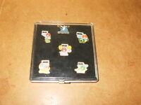 5 anciens pins M&M's Jeux Olympiques d'été 1992 Barcelone (olympic summer games)