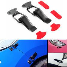 Universal Black Car Bumper Trunk Fender Hatch Lids Quick Release Fastener Kit