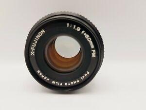 FUJI X-FUJINON 50mm f/1.9 FM, Fujifilm X Mount