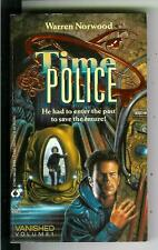 TIME POLICE #1: VANISHED by Norwood, rare US Lynx sci-fi cops pulp vintage pb