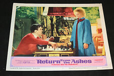 1965 Return From The Ashes Lobby Card 65/352 #1 J. Lee Thompson (C-5)