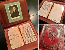 ANDREW JACKSON Autograph Letter Signed AS PRESIDENT * Antique Leather Portfolio