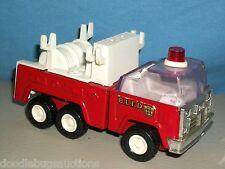"""RARE!! Vintage BUDDY L Fire Truck #1 B.L.F.D. blfd Metal & Plastic 5"""" Japan"""