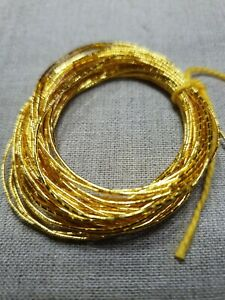 5M IMITATION JAPANESE GOLD THREAD No.9 FOR GOLDWORK EMBROIDERY COUCHING