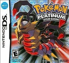 Pokemon Platinum Version (Nintendo DS, 2009) With Manual and Case free shipping!