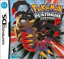 Pokémon Platinum Version for Nintendo DS Systems COMPLETE! pokemon