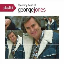 LOT#804 Playlist: The Very Best of George Jones  NEW (CD, Jun-2013, Legacy)