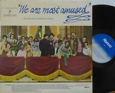 WE ARE MOST AMUSED Very Best Of British Comedy - Various ~ GATEFOLD 2 x VINYL LP