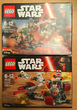 BOITE SET LEGO STAR WARS 75133 75134 GALACTIC /& REBEL ALLIANCE BATTLE PACK