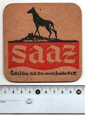 Saaz Bier Vintage Beer Mat