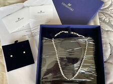 Stunning SWAROVSKI Crystal Tennis Necklace & Earrings Set BNIB 5007747