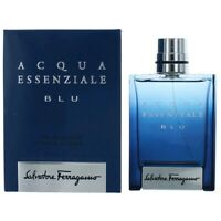 Acqua Essenziale BLU by Salvatore Ferragamo, 3.4 oz EDT Spray for Men