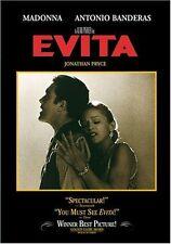 Evita DVD Region 1 CLR/CC/5.1/WS/Keeper