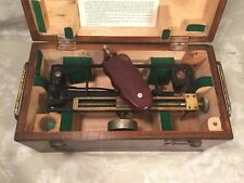 Vintage US Maritime Commission Stadimeter in Wood Case Made by Schick Inc (#2/2)