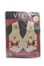 Dimension Appliqué Vest Kit Santa Claus S- XXL
