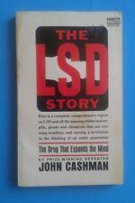 1966 Fawcett Gold Medal Paperback - THE LSD STORY -  by John Cashman