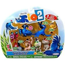 Rio 2 Movie Carnival Party Pack Mini Figures Set 8-pack, New