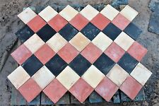 Reclaimed 6 x 6 Inch Multi Coloured Quarry Tile Batches  -  Warwick Reclamation