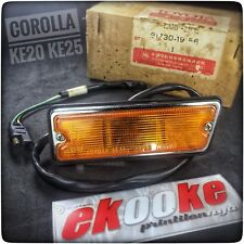 Side Marker Lights TOYOTA Corolla KE20 KE25  New Genuine