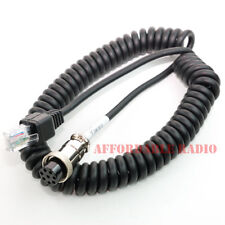 Yaesu MD-100 MD-200 MD-1 microphone mic cable 8pin RJ-45 modular FT-450D FT-897D