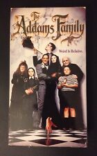 The Addams Family VHS 1991