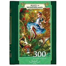 Alice in Wonderland 300 Piece Book Puzzle
