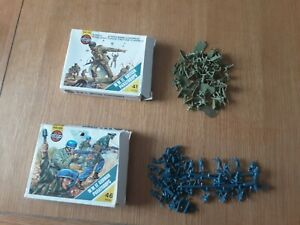 Airfix Ho Oo Soldiers Ww2 British And German Paratroops Boxed