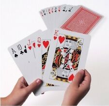Extra Large Jumbo Playing Cards Playing Cards Pack of 52 Game Deck