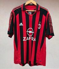 AC MILAN ITALY 2005/2006 HOME FOOTBALL SOCCER SHIRT JERSEY MAGLIA ADIDAS ZAFIRA