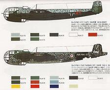 DORNIER Do 217 LUFTWAFFE Bomber Night Fighter Fritz X Vintage FAOW 145