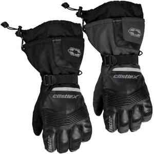 Castle X Factor Mens Snowmobile Skiing Winter Sled Snowboard Gloves