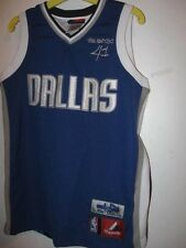 Preowned DALLAS Mavericks DIRK NOWITZKI 41 10/12 Boys JERSEY basketball shirt
