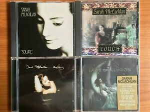 Sarah McLachlan 4CD Albums - Touch + Solace + Surfacing + Laws of Illusion
