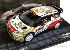 1/43 CITROEN DS3 WRC SORDO RALLY DEUTSCHLAND 2013 IXO EAGLEMOSS DIECAST