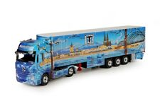 Tekno 68209 - Mercedes Benz Actros Gigaspace with Semitrailer Schumacher Cologne