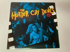 THE MURDER CITY DEVILS SELF TITLED DEBUT LP RECORD 1ST PRESSING W/ PRINTED INNER