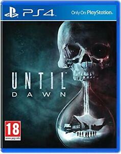 Until Dawn PS4 PlayStation 4 Video Game Mint Condition UK Release
