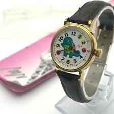 Child's Watch LUCH Squirtle Pokemon NOS Vintage Mechanical Original Belarus Rare