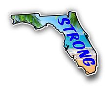 Florida Strong Car Truck Bumper Custom Print Sticker Vinyl Decal Graphic