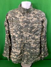 US Army Digital Camouflage Military Jacket Size Medium Long Camo Fast Shipping