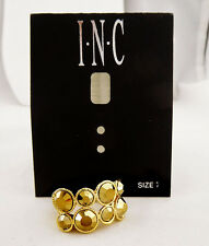 INC International Concepts Gold tone Ring Msrp $29.50 ***NEW WITH TAG***