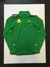 Nike Oregon Ducks Running Top Shirts Green Puddles Mens Size XL NWOT