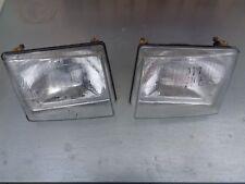 Scheinwerfer Lampe Fiat Uno links rechts Hauptscheinwerfer 1983-´89