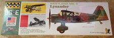Hawk Westland MK.II Lysander airplane 1/48 scale model kit new 410