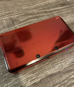 Nintendo 3DS Handheld System - Flame Red (Model CTR-001) - Tested - Free Shiping