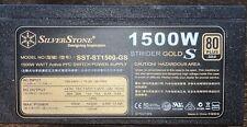 SilverStone SST-ST1500GS 1500W Strider Gold S 12V ATX Power Supply Unit