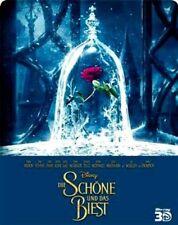 DIE SCHÖNE UND DAS BIEST (Emma Watson) Blu-ray3 D + Blu-ray Disc, Steelbook NEU